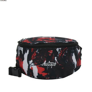 fashion waist bag with different pattern teens waist bag