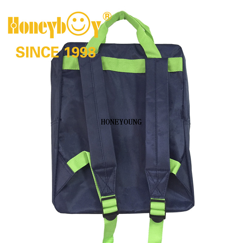 Large Outdoor Custom Logo School Bag with Webbing Handle