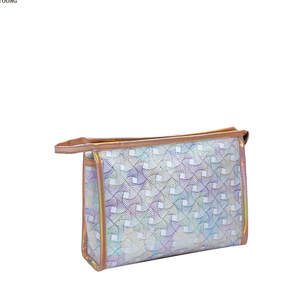 Lightweight Holiday Medium Girls Pu Cosmetic Bag HY-M005