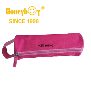 Simple Promtoional Student Pencil Bag with Webbing Handle