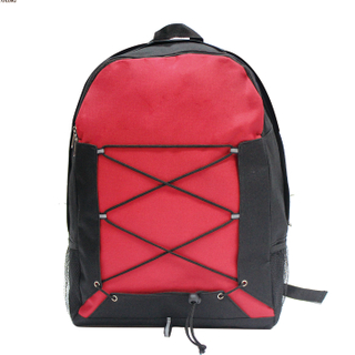 Polyester School Backpack with Side Mesh Pocket HY-A117