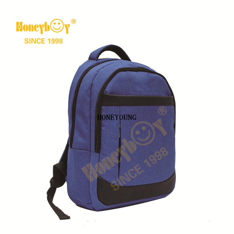 Extra Large College Polyester Pu Computer Backpack HY-I006