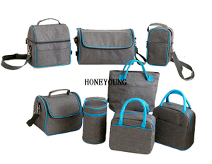 Best Outdoor Lightweight Melange Cooler Bag Set HY-L008