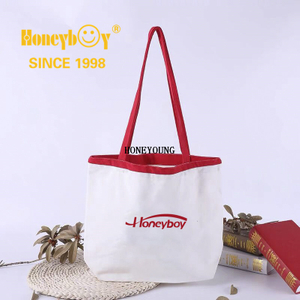 High Quality Canvas Custom Printed Shopping Bag HY-HS002
