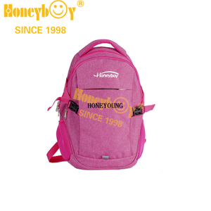 Medium Solid Color Student High School Backpack HY-A012