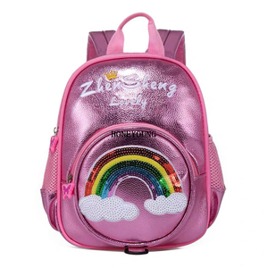New Design Eco PU Cute Kids Backpack
