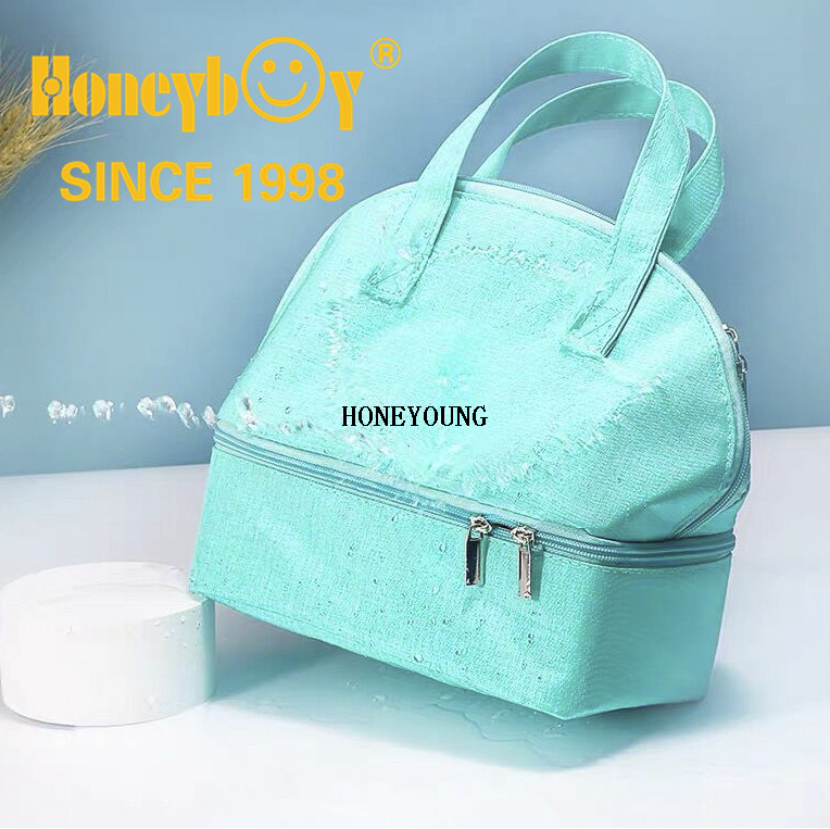 300D Two Tone Waterproof Milk Cooler Bag HY-H006