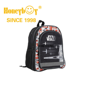 Best Sale Comfortable Back Boys Strong School Bag with Piping