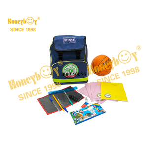 Simple Teenager Notebook Stationery School Backpack Set
