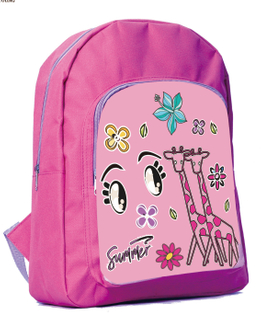 Polyester Durable Cute Kids Backpack with Printing HY-A062