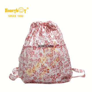Hot Selling New Style Printing Drawstring Backpack HY-K004