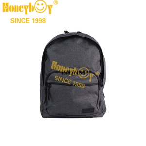 Medium Simple Two Tone Student School Backpack