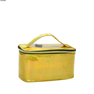 Beauty Glitter Travel Woman Pu Cosmetic Bag