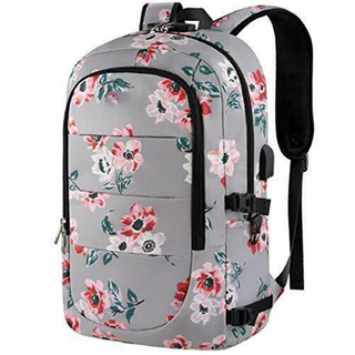 Flower Laptop Backpack DIY