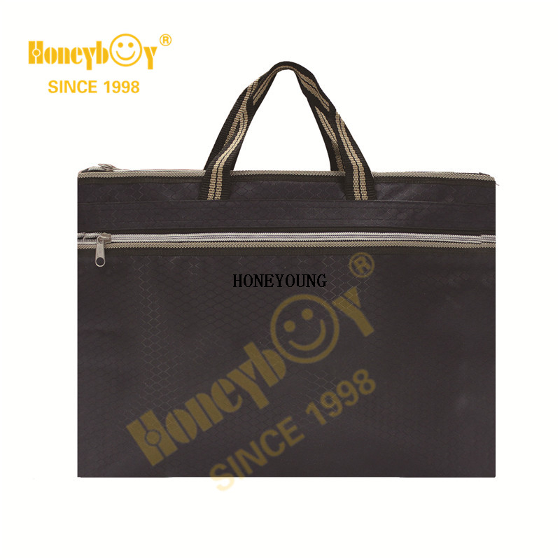 Wholesale Simple Light Polyester Computer Hand Bag
