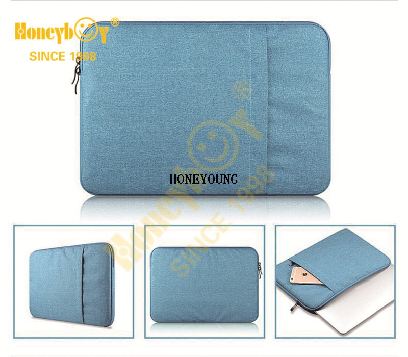 Classic Solid Color Polyester Ipad Computer Bag HY-T012-4