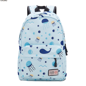 Fashion Printing Girls Travelling Nylon Outdoor Backpack