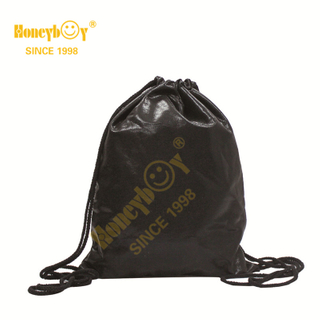 New Promotional Soft PU Fabric Drawstring Backpack HY-K008