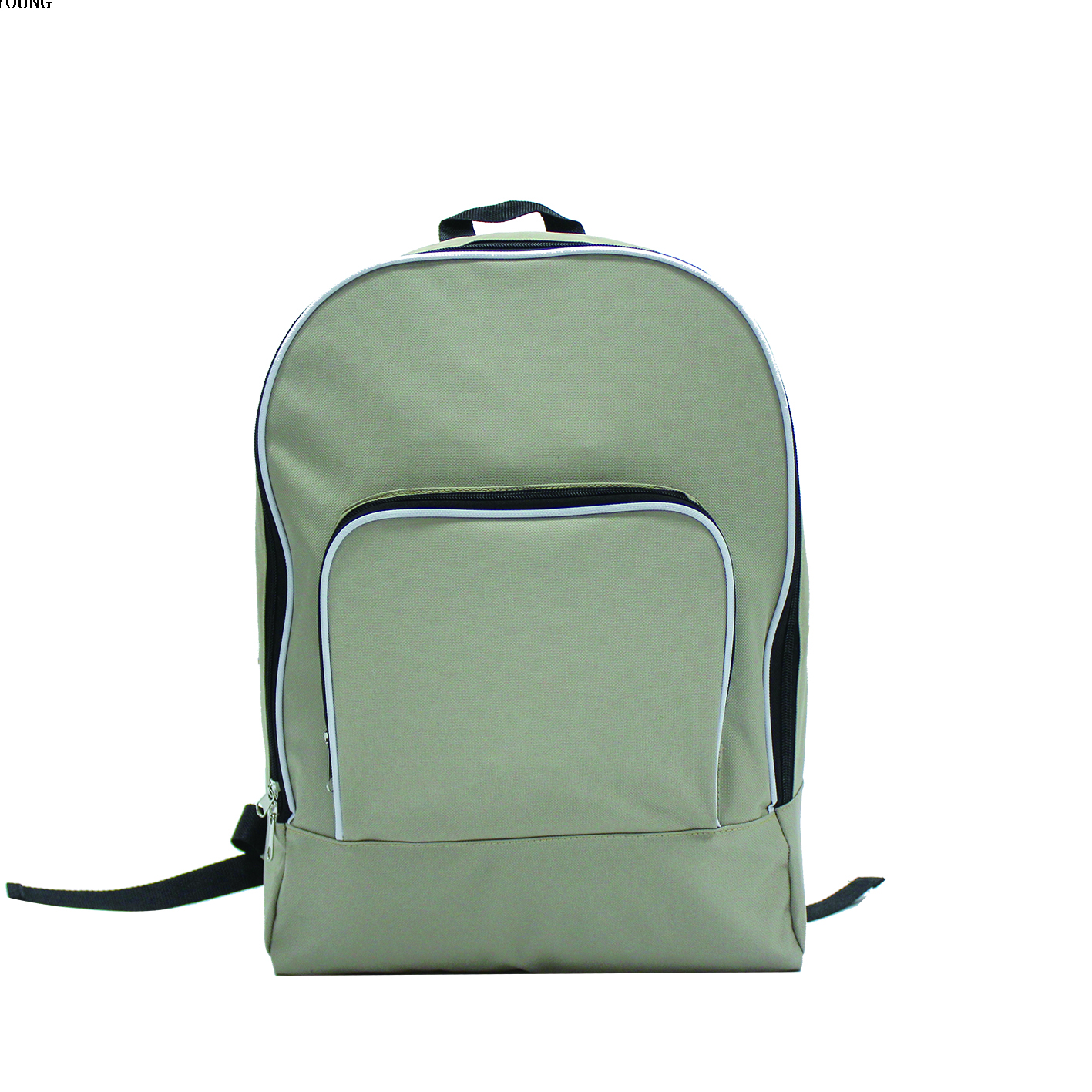 Light Large Capacity Foldable Promotional Backpack with Piping HY-A130