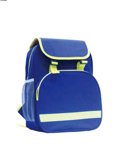 600D polyester durable cute kids backpack school bag from China