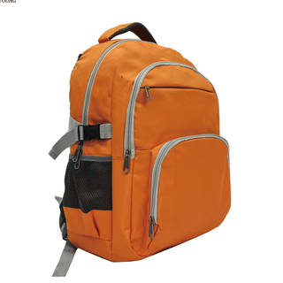 Popular Teenager Soft Pu Backing School Backpack HY-A130