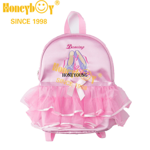 Beautiful Design Waterproof Cute Dancing Children Backpack HY-T017-1