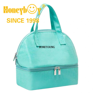 300D Two Tone Waterproof Milk Cooler Bag