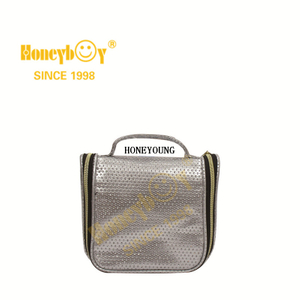 Popular Girls Travel Pu Waterproof Cosmetic Bag
