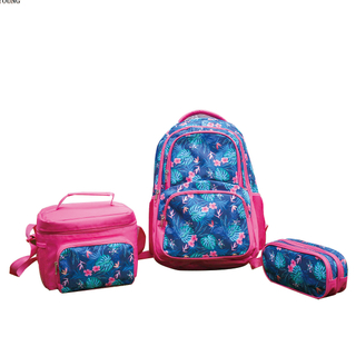 Wholesale Personalized Girls Middle School Bag Set HY-T008